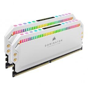 RAM CORSAIR DOMINATOR PLATINUM RGB 16GB (2X8GB) 3200MHZ C16 WHITE
