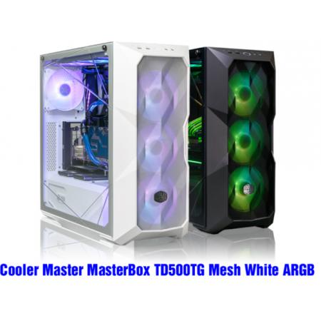 VỎ CASE COOLER MASTER MASTERBOX TD500TG MESH WHITE ARGB ( MID TOWER /MÀU TRẮNG/LED ARGB/MẶT LƯỚI)